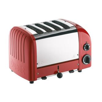 4 Slice Toaster - Original Red