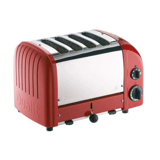 4 Slice Toaster - Original Red