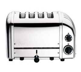 4 Slice Toaster - Stainless Steel