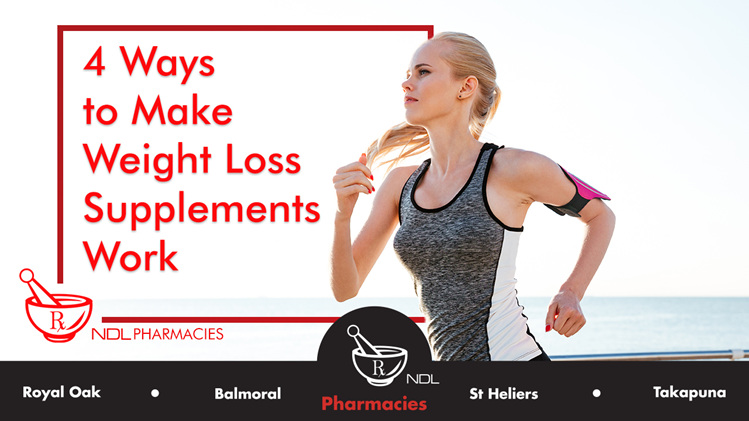 4 Ways to Make Weight Loss Supplements Work