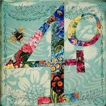 40 Floral card