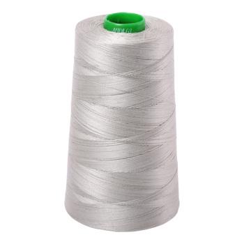 40wt Aurifil Aluminium 2615
