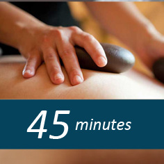 45 minute Hot Stone massage