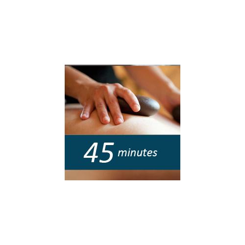 45 minute Hot Stone massage