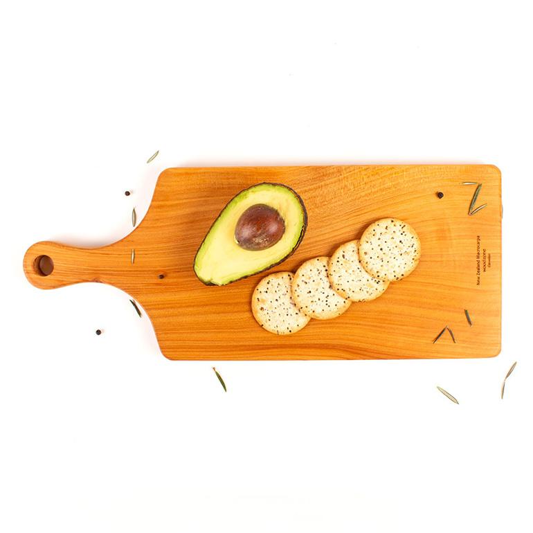 450 x 180 x 20 macrocarpa chopping board