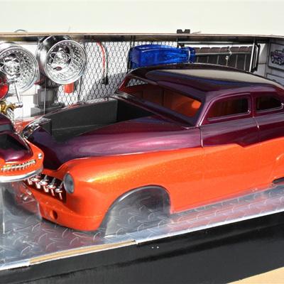 '49 Mercury - Orange and Plum