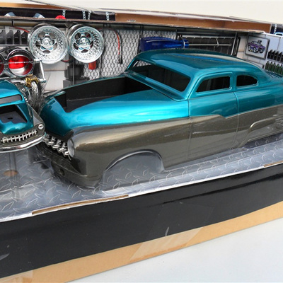 '49 Mercury - Teal & Grey