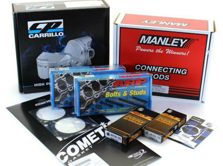 4B11 (EVOX) Engine Rebuild Package - CP Pistons & Manley Rods