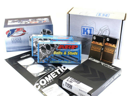 4G63 (EVO IV) Engine Rebuild Package - JE Pistons & K1 Rods