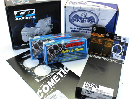 4G63 (VR4) Engine Rebuild Package - CP Pistons & Eagle Rods