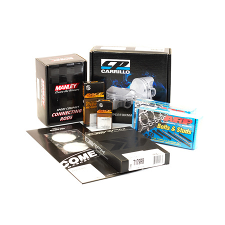 4G63 (VR4) Engine Rebuild Package - CP Pistons & Manley Rods 8.5:1 CR