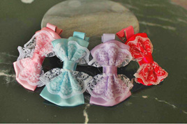 4pk Lace Hairclips