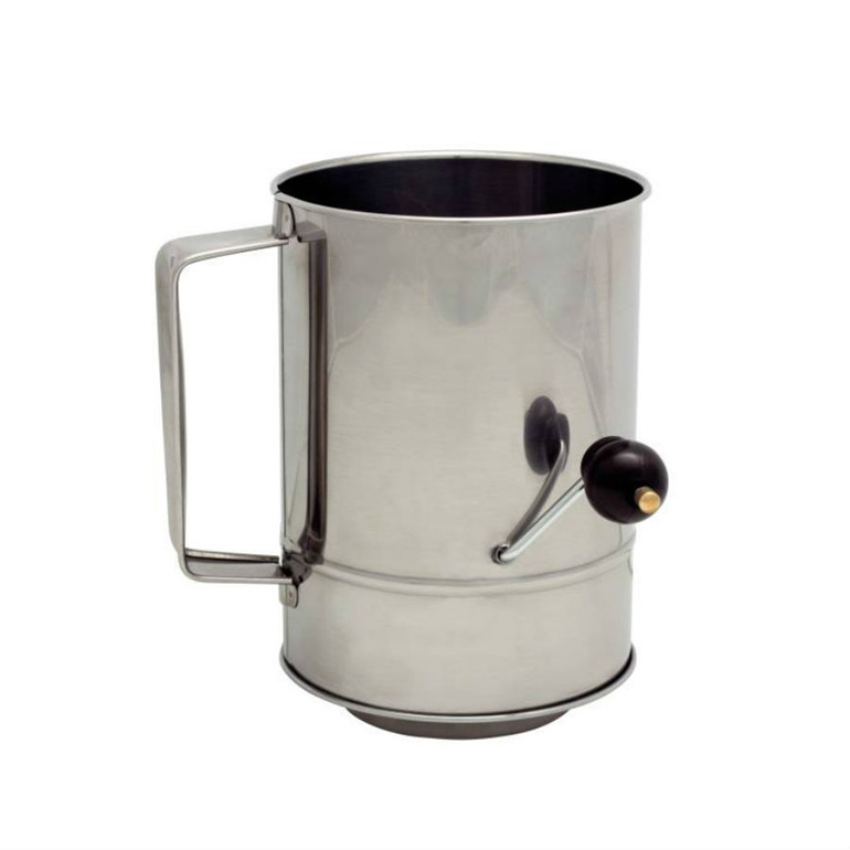 5 Cup Flour Sifter (Crank Handle)