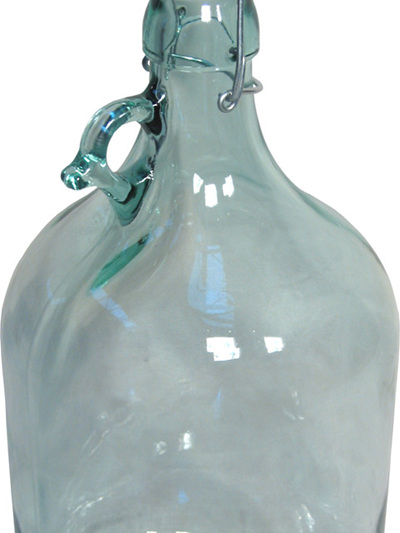 5 L Glass Jar with Swing Lid