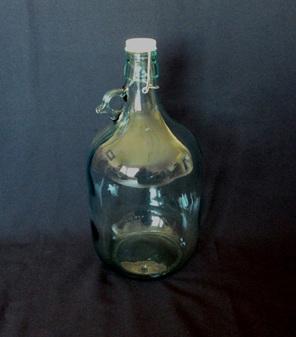 5 x 5 Litre Italian Glass Carboys