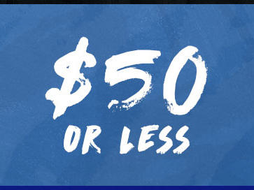 $50 or less