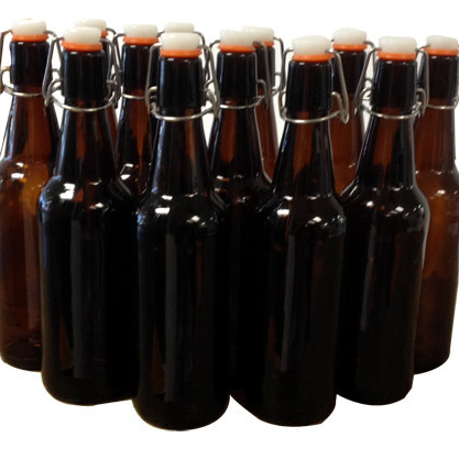 500ml Glass Flip-Top Bottles