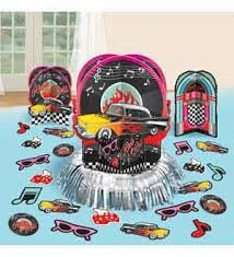 50's Table Decorating Kit