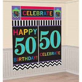 50th birthday scene setter
