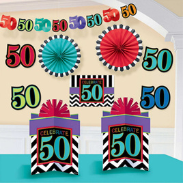 50th celebration  decorating kit