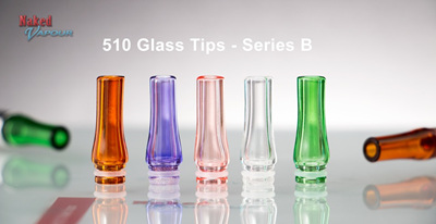 510 Glass Tips - Series B