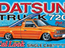 Aoshima 1/24 Datsun 720 Cal Look Single Cab Pickup
