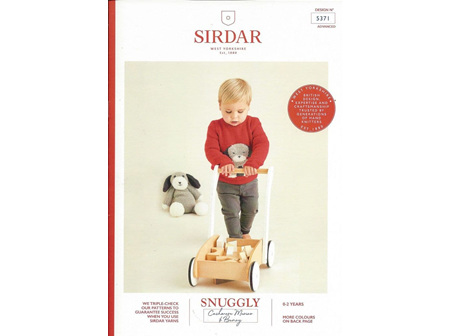 5371 SNUGGLY BUNNY PATTERNS SP244.5371