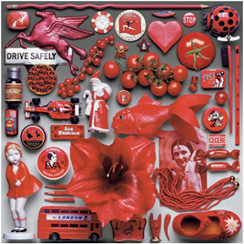 Ceaco 550 Piece Jigsaw Puzzle 'Red'