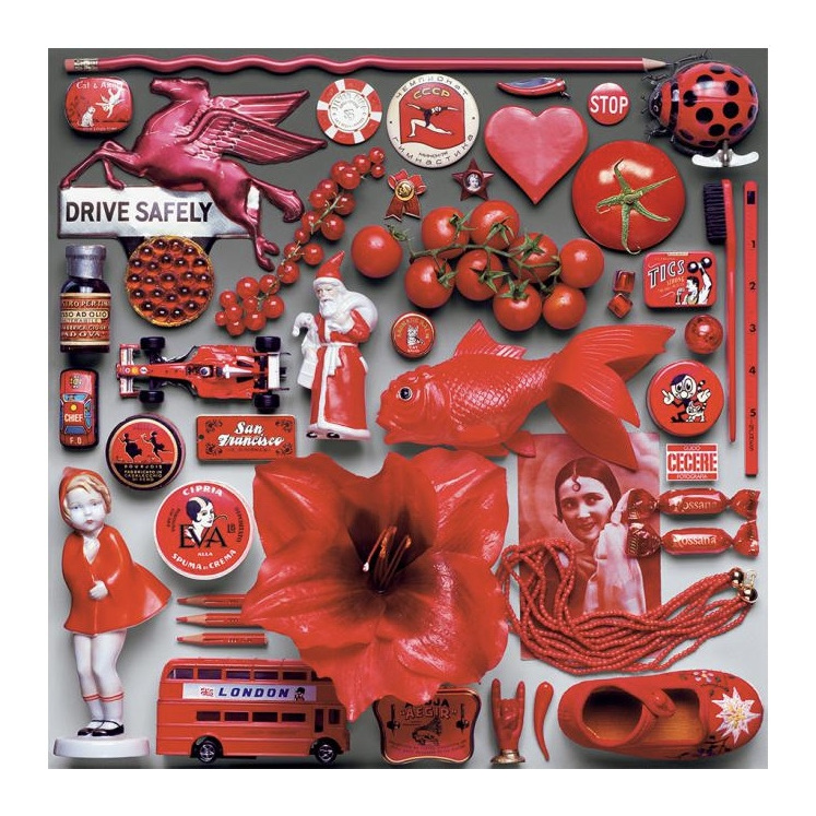 550 piece jigsaw puzzle Red by Ceaco now at www.puzzlesnz.co.nz