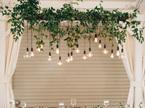 5m 10 Bulbs Connectable Waterproof Indoor / Outdoor Festoon Pendant Lights - Warm White