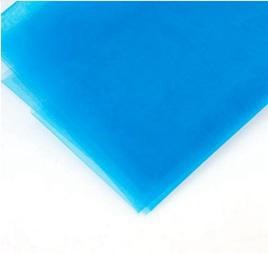 5M ORGANZA MATERIAL - BLUE