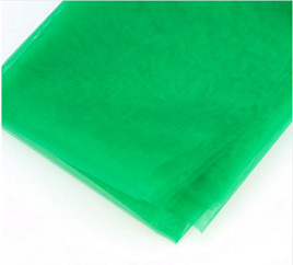 5M ORGANZA MATERIAL - GREEN
