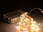 5m Peg Lights  Copper or Silver Wire Battery Seed Fairy Lights