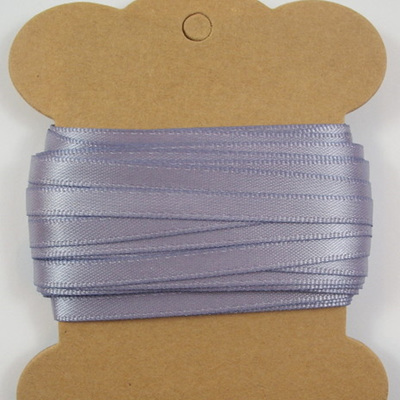 5mm Double-Sided Satin Ribbon: Thistle