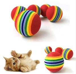 5pc Foam Ball Cat Toy