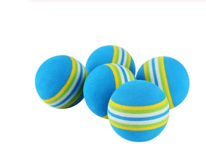 5pc Foam Ball Cat Toy - BLUE