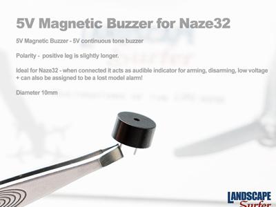 5V Magnetic Buzzer for Naze32