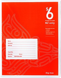 $6 NZ wide postage included red bag size 3.