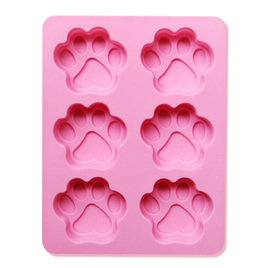 6 PAW SILICONE MOULD