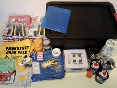 Six Person Comprehensive Emergency Kit