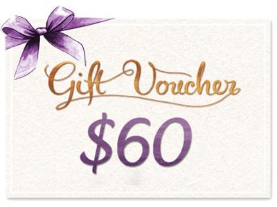 $60 Gift Voucher