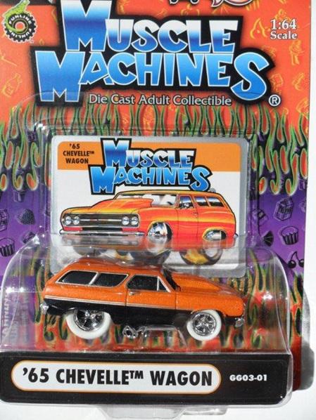 '65 Chevelle Wagon - Grocery Getter (Orange & Black)