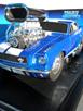 '66 Mustang - Blue, White Stripes