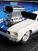 '66 Mustang - White, Blue Stripes