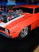 '69 Chevy Camaro - Orange, White Stripes