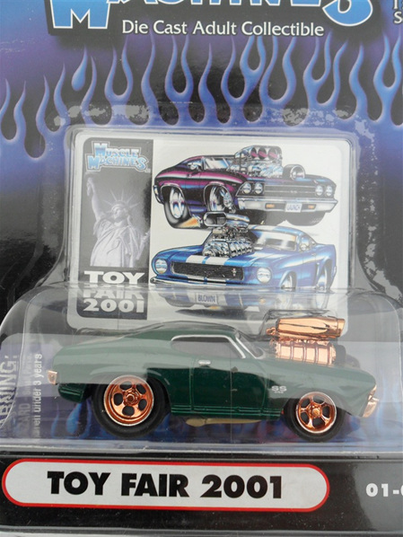 '69 SS Chevelle - Green with Gold (NYTF)