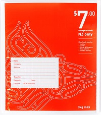 $7.00 NZ wide postage included red bag - bubble - size 3