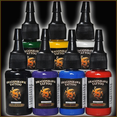 7 Different Color Ink 0.5 oz each