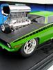'70 'Cuda - Green