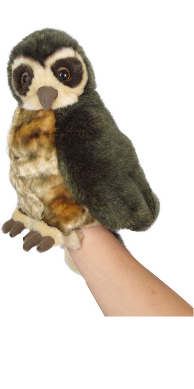 Morepork (Ruru) Hand Puppet